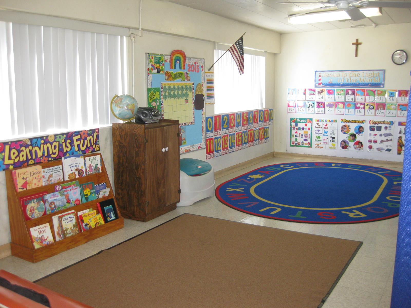 Little Flower Pre-Kinder Classroom