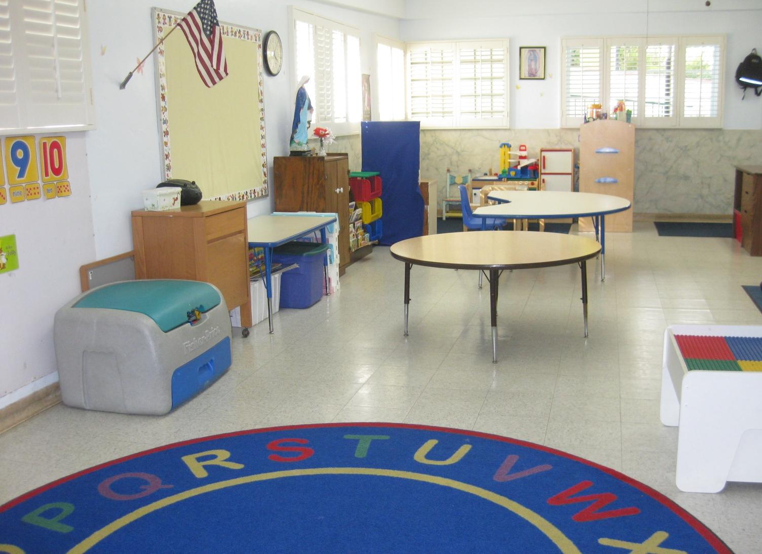 Little Flower Pre-School Classroom