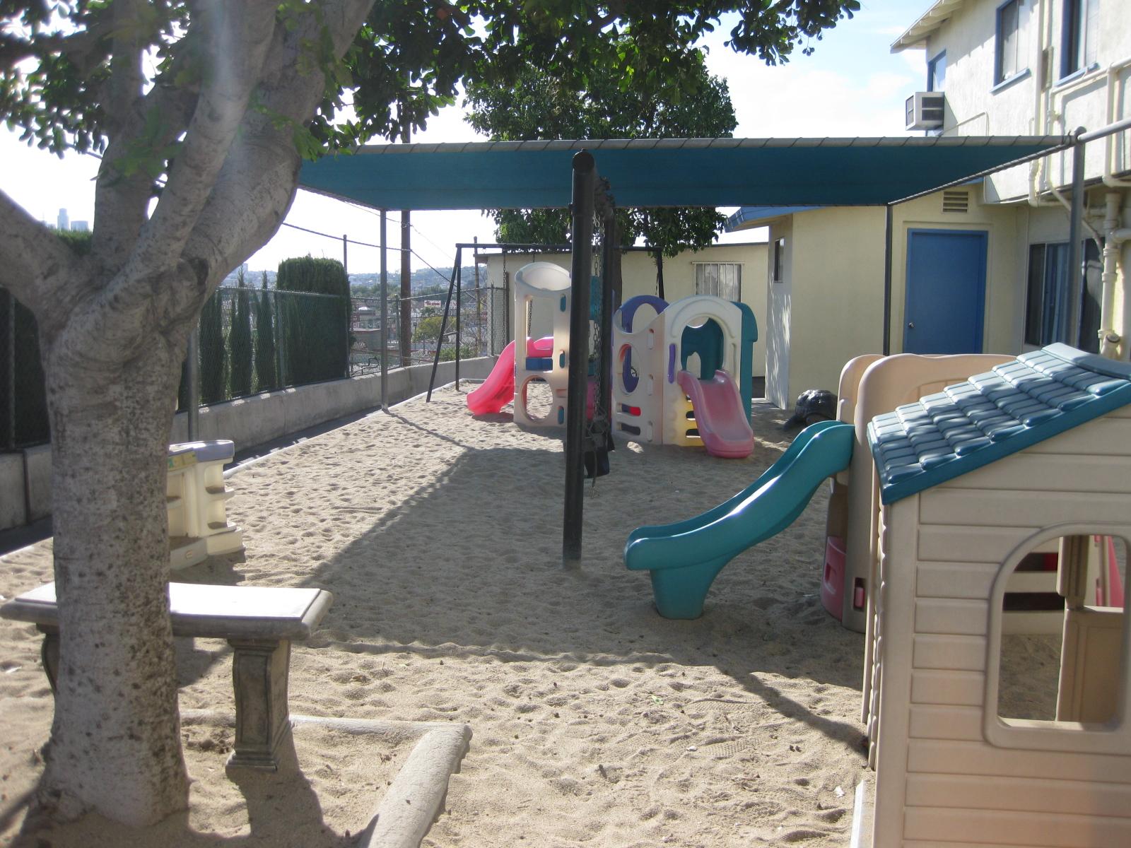 Little Flower Pre-School Playground