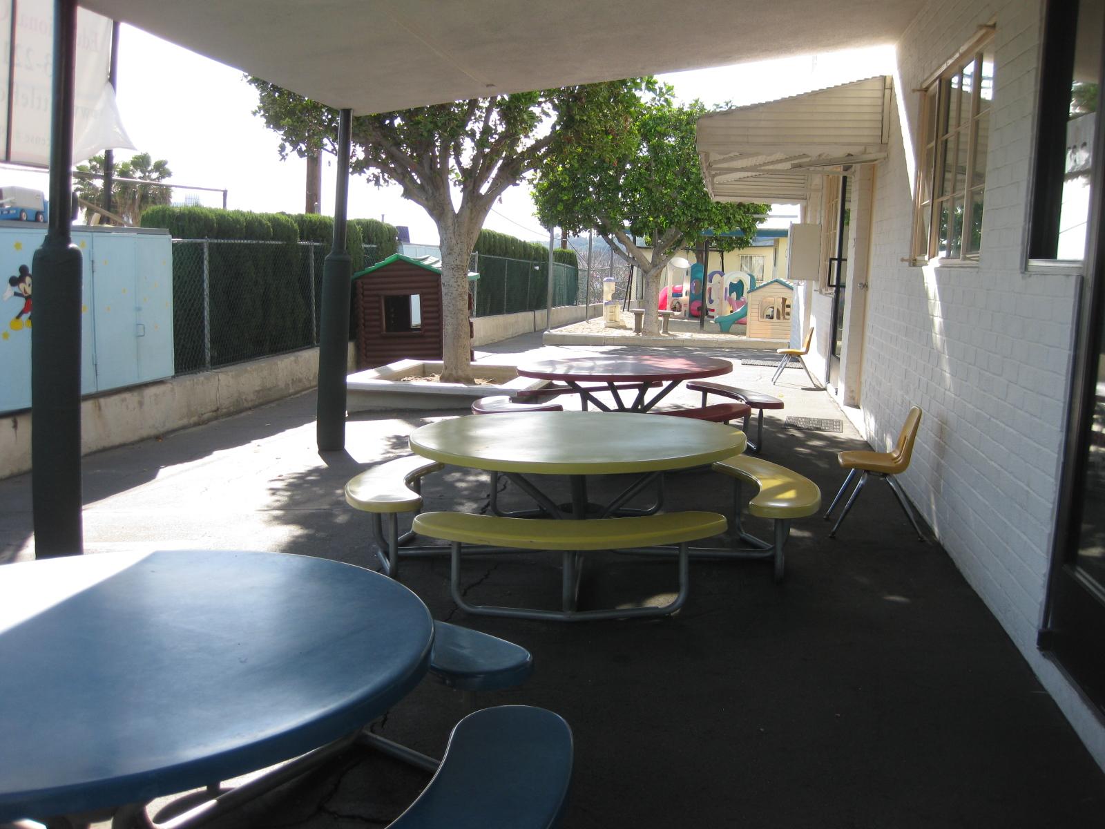 Pre-School Snack Area